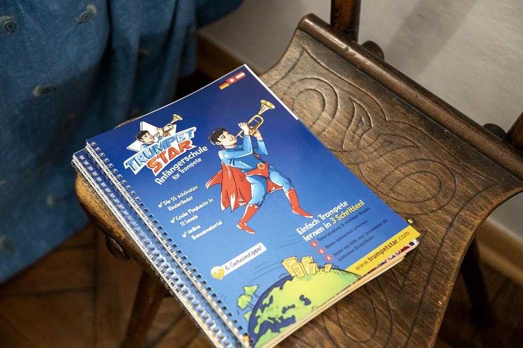 Trumpetstar Buch