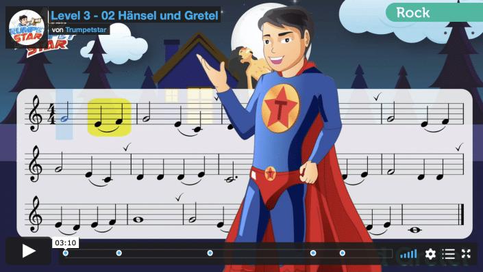 Beispielvideo Trumpetstar - Trompete lernen